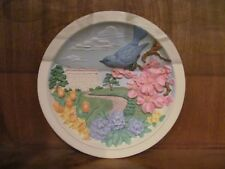 """Avon Fine Collectables Sculptured Plaque """"Southern Blossum"""" New In Box"""