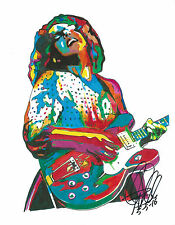 Brittany Howard, Alabama Shakes, Vocals, Guitar, Blues Rock, 8.5x11 PRINT w/CO