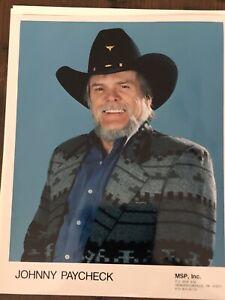 Johnny Paycheck Grand Ole Opry 8x10 Photos (3)