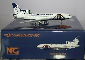NG Models 35012 Lockheed L-1011-385-3 TriStar 500 ATA N163AT in 1:400 Scale