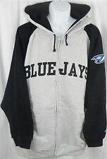 Toronto Blue Jays MLB Majestic Full Zip Hoodie Sweatshirt Big & Tall  Sizes