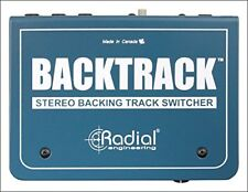 Radial Engineering Backtrack - Stereo Audio Switcher Free 2Day