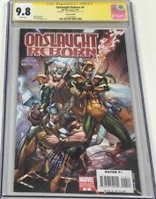 Marvel Onslaught Reborn #4 Variant Signed by J. Scott Campbell CGC 9.8 SS