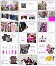 Modern Fashion PowerPoint Template - CS5037