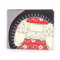 SONY PLAYSTATION BIKER CONTROLLER BI-FOLD WALLET MALE MULTI-COLOUR (MW076401SNY)