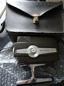 Bell & Howell Super 8 Cine Camera  Autoload Optronic Eye WORKING WITH CASE