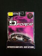 Hot Wheels D Force Mazda Rx-7 Black & Silver  Diecast G8192 HIN Import Racer