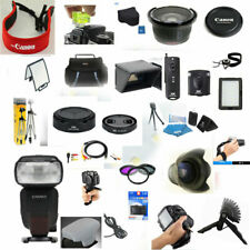 30 PC Pro Accessory KIT for Canon PowerShot G1 X Mark III YN600EX-RT Flash Remot