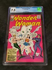 Wonder Woman #125 CGC 7.5 Mer-Man Appearance Silver Age 10 Cent Cover Price 1961