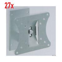 """27x TV-Wandhalterung 10"""" - 25""""  25 - 65 cm max. 20 kg schwenk neigbar 10-25 Zoll"""