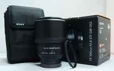 # Sony SEL 100mm F/2.8 GM OSS FE Lens + Filter (1803240)