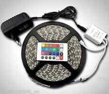 Tira de luces 300 LEDS RGB flex con cinta de 5M bajo consumo 12V mando- BARATO