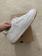 Reebok Classic White Club C 85 Diamond Trainers / Sneakers Size UK 4.5