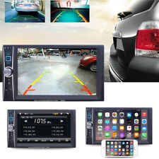 """7"""" Doppel 2Din Autoradio Touchscreen Navi RDS Bluetooth Mit Rückfahrkamera"""