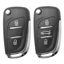 Silicone Remote Key Fob Case For Peugeot 308 207 307 3008 807  Citroen C2 C3 C4