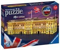 Ravensburger Buckingham Palace Night Edition 216 piece 3D Jigsaw Puzzle with LED