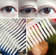 FD740 Thin Invisible Double-sided Eyelid Adhesive Eyes Tape Sticker Fork ~100PCs