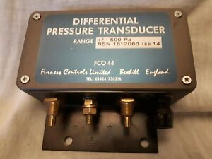 QAULITY FURNESS CONTROLS LIMITED – FCO 44 DIFFERENTIAL PRESSURE TRANSDUCER