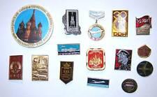 LOT of 15 USSR Communist Socialist pin badges #3