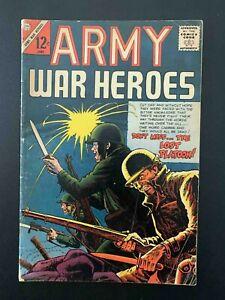 ARMY WAR HEROES #14 CHARLTON COMICS 1966 FN-