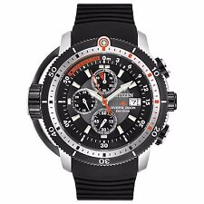 Citizen Eco-Drive Men's BJ2128-05E Promaster Depth Meter Chronograph 48mm Watch