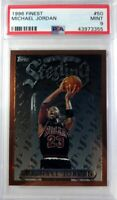 1996 96 Topps Finest Sterling Michael Jordan #50, Graded PSA 9 MINT