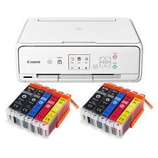 SET CANON PIXMA TS 5050/TS 5051 STAMPANTE FOTOCOPIATRICE SCANNER WI-FI + 10x XL