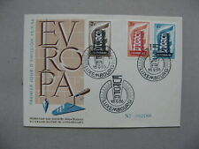 LUXEMBOURG, cover FDC 1956, Europe CEPT (2)