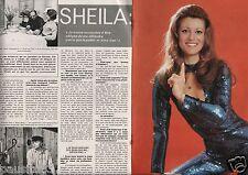 Coupure de presse Clipping 1976 Sheila  (4 pages)