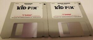 "Kid Pix for Macintosh *3.5"" Floppy Disks Only*"