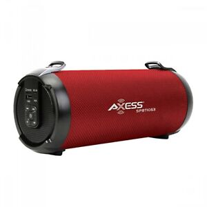 Clear Loud Sound Portable Bluetooth Speaker With FM Radio and Aux-inputs