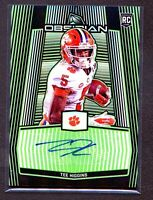 TEE HIGGINS 2020 Obsidian ELECTRIC ETCH AUTO SSP Rookie RC /10 -- RARE 🔥