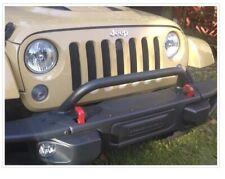 2007 2018 Jeep Wrangler Jk Rubicon Steel Front Bumper Bar Brush Guard Mopar Oem
