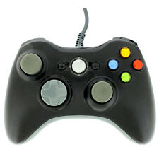 Black USB Wired Gamepad Controller Joypad Joystick For Xbox 360 PC Windows