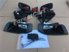 EZGO TXT 96-2013 Golf Cart STREET LEGAL Halogen/LED Light Kit Horn Brake Turning