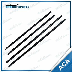Outer Door Weather Window Rubber Seal for Holden Commodore VE VF Sedan GTS SSV