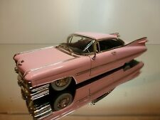 JADA TOYS CADILLAC DEVILLE 1958 - PINK 1:24 - VERY GOOD CONDITION