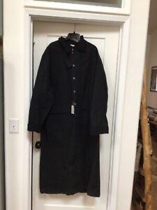 WAH MAKER Frontier Men's Coat Duster Western old west 1800's XXL reenactor