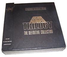1988 Star Wars Trilogy Definitive Collection Laserdisc Box Set Widescreen
