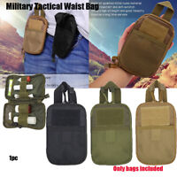 Military Tactical Mini EDC Molle Waist Bag Pouch Pack Outdoor Sport 1000D Nylon