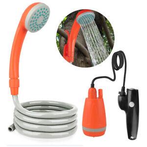 Leisurewize LW627 Rechargeable Portable Shower Rechargeable Portable 2.5 L//min Camping Showerhead Outdoor//Indoor Lightweight