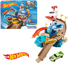 Hot Wheels City Sharkport Showdown BGK04 Colour Shifters Car New Kids Toy 4-8Y