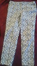 Kate Spade Saturday Black&White Capris Size 4 Cute