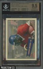 2001 Fleer Tradition Glossy Mini LaDainian Tomlinson RC Rookie 305/350 BGS 9.5