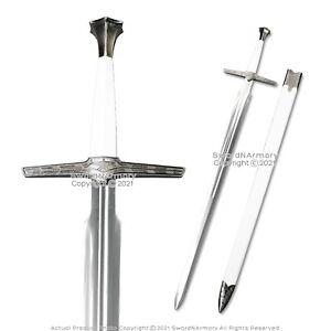 "47.5"" White Geralt Fantasy Sword Witcher Killer Blade Movie Replica Cosplay"
