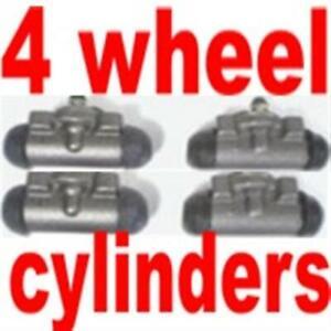4 Wheel Cylinders: Ford Car 1949-1956, Mercury 1955-1956, Thunderbird 1955