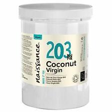 Huile Noix Coco Vierge BIO (n° 203) 1kg 100% pure naturelle pressée à froid