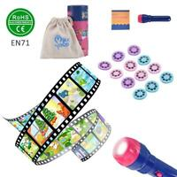 Baby Story Handed Educational Toy Torch Storybook Flashlight Kids Projector