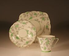 "British Royal Grafton  ""Ashley Green"" Pattern Trio c. 1940s"