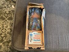 """Vintage 15"""" Original Holly Hobbie Knickerbocker Rag Doll American Greetings 3421"""